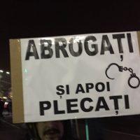 """Imagini PROTEST MASIV anuntat duminica, 24 februarie 2019 """"Abrogați și apoi Plecați! """""""
