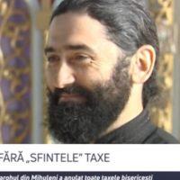 """Imagini Preotul care a anulat toate taxele bisericești. """"Acolo unde este taxă, nu mai este har. """" VIDEO"""